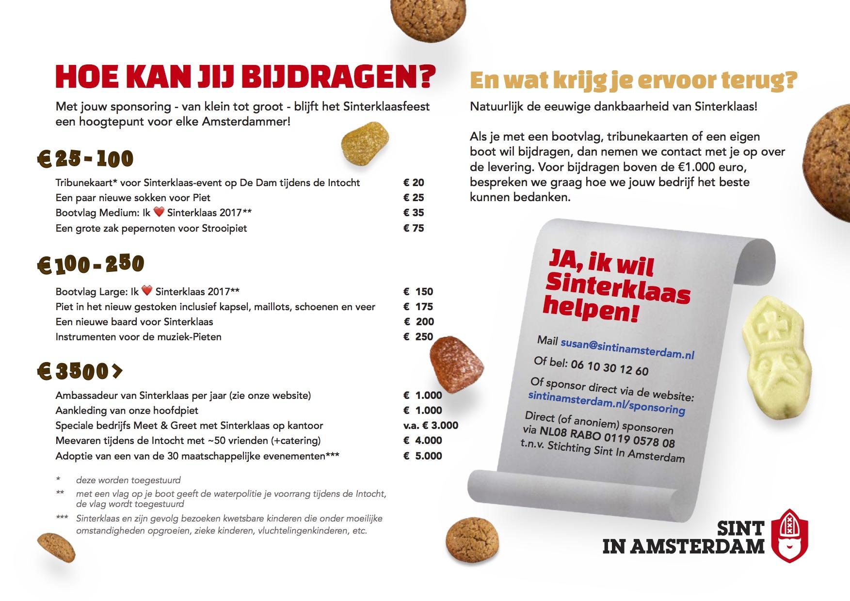 Verlanglijstje Van Sinterklaas Help Je Mee Copy Sint In Amsterdam